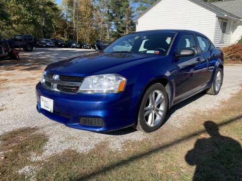 2014 Dodge Avenger for sale at Williston Economy Motors in Williston VT