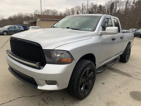 2012 RAM Ram Pickup 1500 for sale at Elite Motors in Uniontown PA