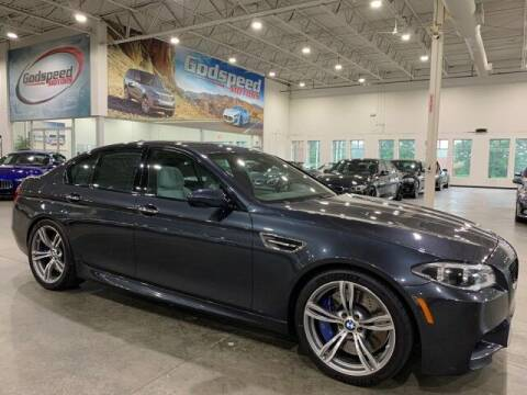 2014 BMW M5 for sale at Godspeed Motors in Charlotte NC