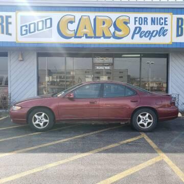 2002 Pontiac Grand Prix for sale at Good Cars 4 Nice People in Omaha NE