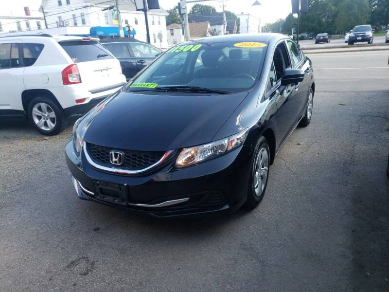 2015 Honda Civic for sale at TC Auto Repair and Sales Inc in Abington MA
