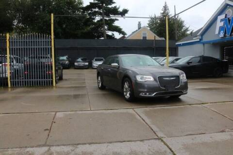 2016 Chrysler 300 for sale at F & M AUTO SALES in Detroit MI