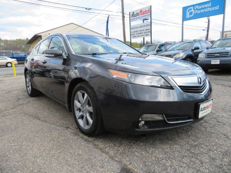 2012 Acura TL for sale at Auto Match in Waterbury CT