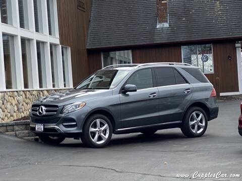 2017 Mercedes-Benz GLE for sale at Cupples Car Company in Belmont NH