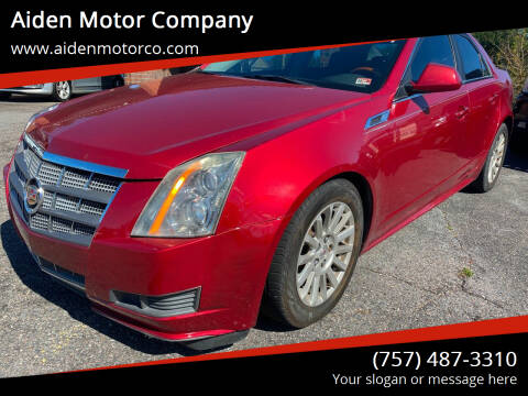2011 Cadillac CTS for sale at Aiden Motor Company in Portsmouth VA