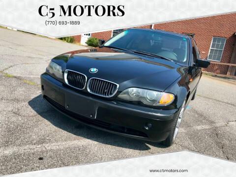 2002 BMW 3 Series for sale at C5 Motors in Marietta GA