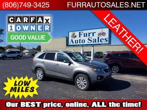 2011 Kia Sorento for sale at FURR AUTO SALES in Lubbock TX