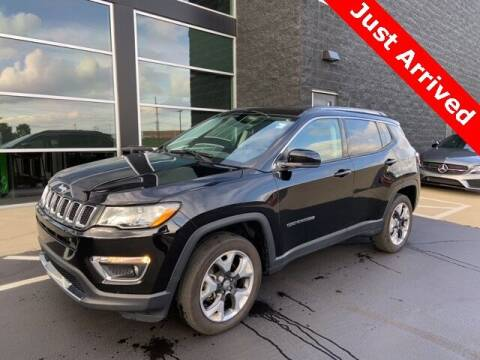 2018 Jeep Compass for sale at Autohaus Group of St. Louis MO - 40 Sunnen Drive Lot in Saint Louis MO