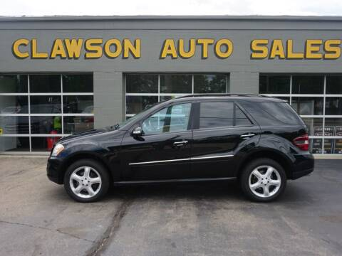 2008 Mercedes-Benz M-Class for sale at Clawson Auto Sales in Clawson MI
