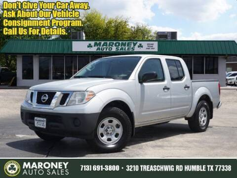 2019 Nissan Frontier for sale at Maroney Auto Sales in Humble TX