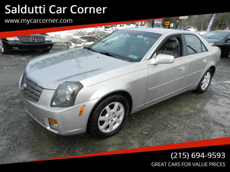 2005 Cadillac CTS for sale at Saldutti Car Corner in Gilbertsville PA