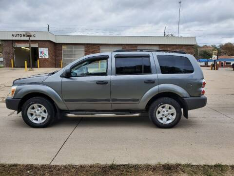 2005 Dodge Durango for sale at RIVERSIDE AUTO SALES in Sioux City IA