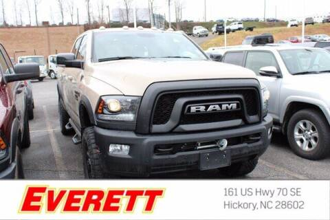2018 RAM Ram Pickup 2500 for sale at Everett Chevrolet Buick GMC in Hickory NC