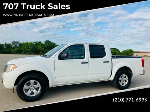 2013 Nissan Frontier for sale at 707 Truck Sales in San Antonio TX