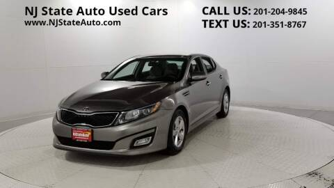 2015 Kia Optima for sale at NJ State Auto Auction in Jersey City NJ