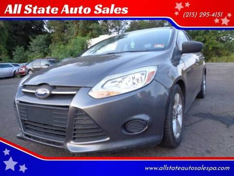 2014 Ford Focus for sale at All State Auto Sales in Morrisville PA