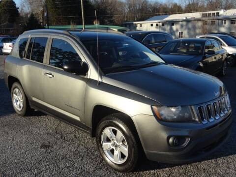 2014 Jeep Compass for sale at HAPPY TRAILS AUTO SALES LLC in Taylors SC