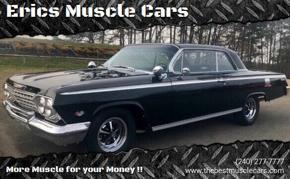 1962 Chevrolet Impala for sale at Erics Muscle Cars in Clarksburg MD