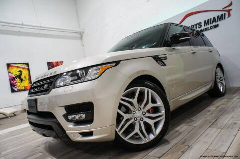 2014 Land Rover Range Rover Sport for sale at AUTO IMPORTS MIAMI in Fort Lauderdale FL