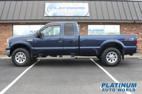 2005 Ford F-250 Super Duty for sale at Platinum Auto World in Fredericksburg VA