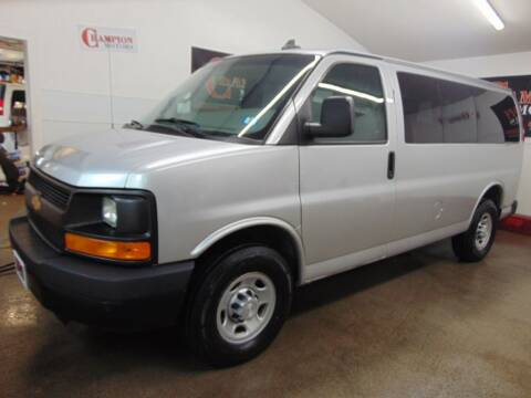 2016 Chevrolet Express Passenger for sale at Champion Motors in Amherst NH
