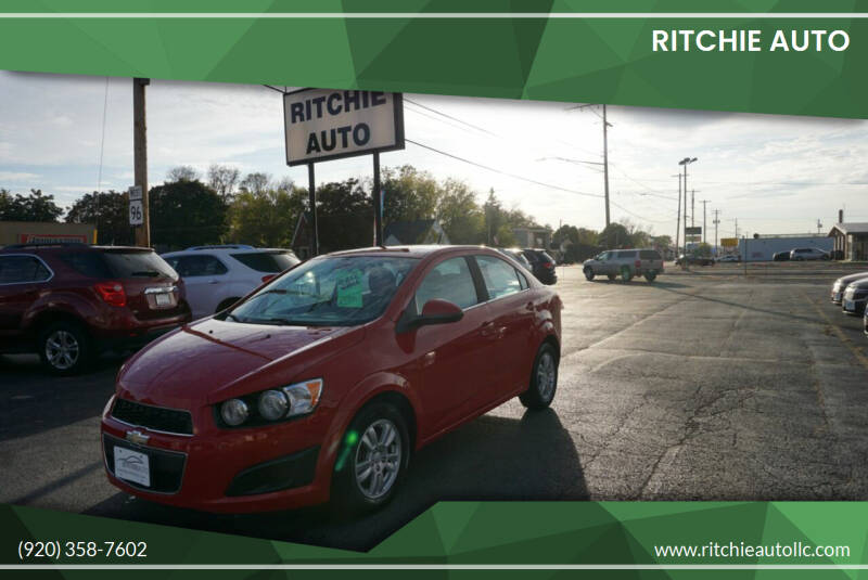 2012 Chevrolet Sonic for sale at Ritchie Auto in Appleton WI