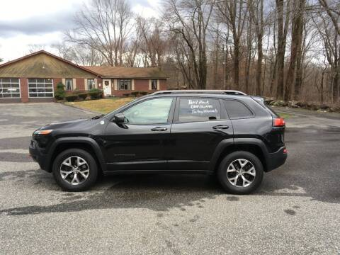 2015 Jeep Cherokee for sale at Lou Rivers Used Cars in Palmer MA