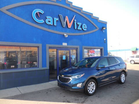 2019 Chevrolet Equinox for sale at Carwize in Detroit MI