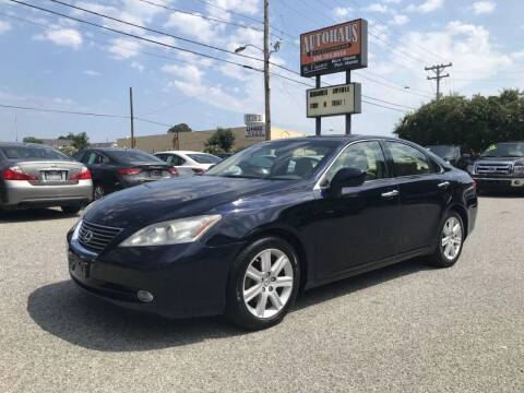 2007 Lexus ES 350 for sale at Autohaus of Greensboro in Greensboro NC