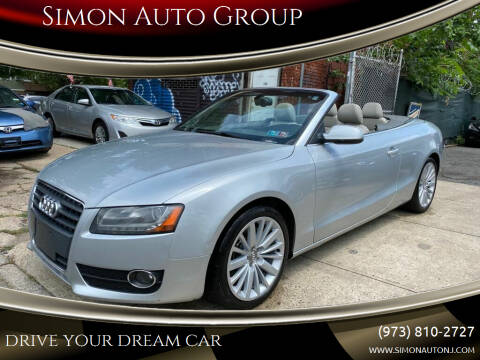 2011 Audi A5 for sale at Simon Auto Group in Newark NJ