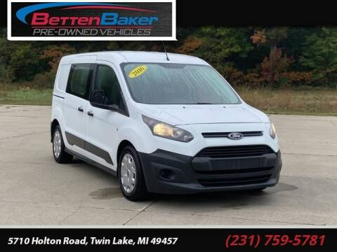 2016 Ford Transit Connect Cargo for sale at Betten Baker Preowned Center in Twin Lake MI
