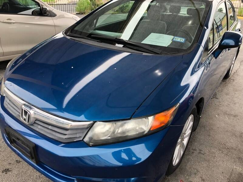 2012 Honda Civic for sale at Gold Star Motors Inc. in San Antonio TX