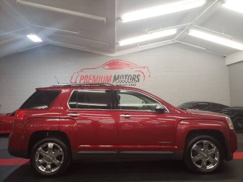 2012 GMC Terrain for sale at Premium Motors in Villa Park IL