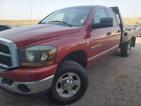 2006 Dodge Ram Pickup 2500 for sale at PYRAMID MOTORS - Pueblo Lot in Pueblo CO