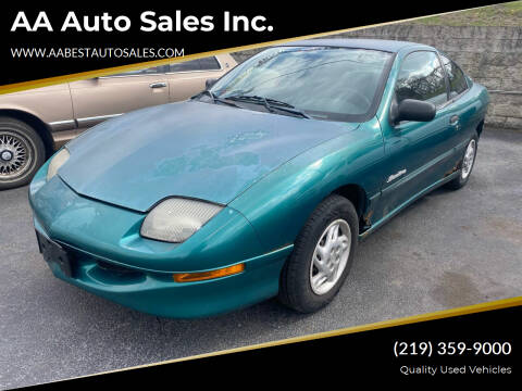 1999 Pontiac Sunfire for sale at AA Auto Sales Inc. in Gary IN