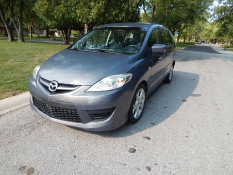2009 Mazda MAZDA5 for sale at National Vehicle Brokers in Merrillville IN