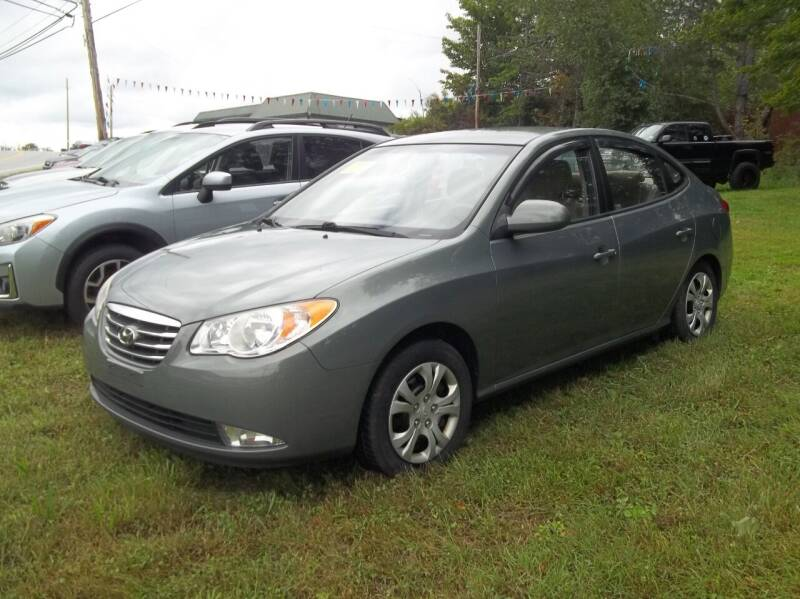 2010 Hyundai Elantra for sale at Warner's Auto Body of Granville Inc in Granville NY