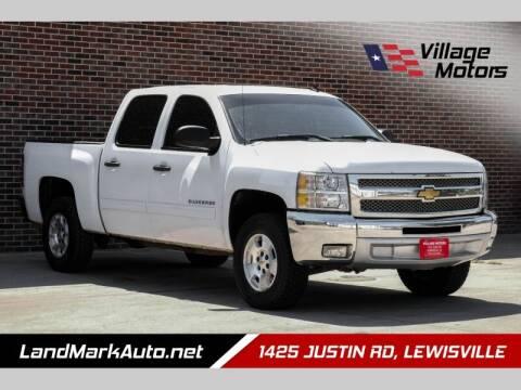 2013 Chevrolet Silverado 1500 for sale at Village Motors in Lewisville TX