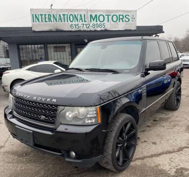 2011 Land Rover Range Rover for sale at International Motors Inc. in Nashville TN