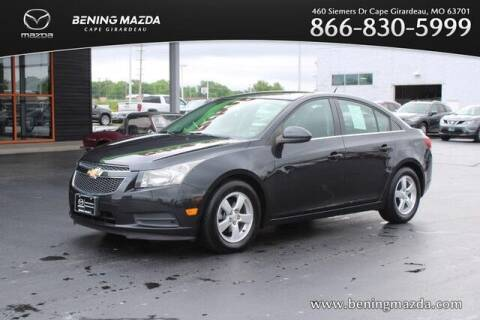 2013 Chevrolet Cruze for sale at Bening Mazda in Cape Girardeau MO