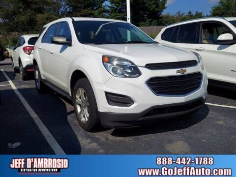 2017 Chevrolet Equinox for sale at Jeff D'Ambrosio Auto Group in Downingtown PA