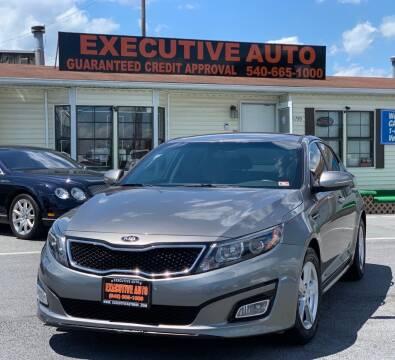 2015 Kia Optima for sale at Executive Auto in Winchester VA