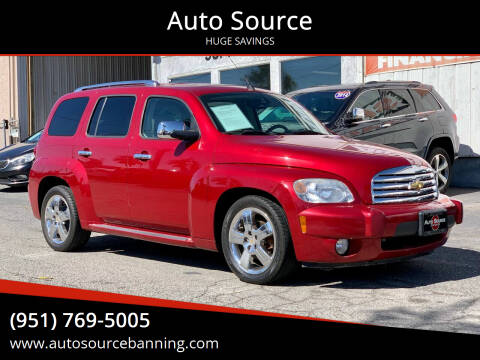 2010 Chevrolet HHR for sale at Auto Source in Banning CA