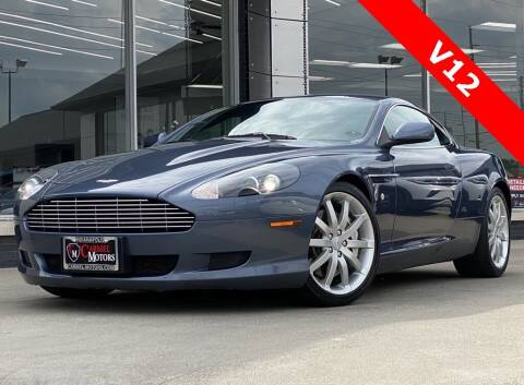 2005 Aston Martin DB9 for sale at Carmel Motors in Indianapolis IN