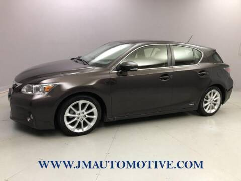 2012 Lexus CT 200h for sale at J & M Automotive in Naugatuck CT