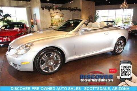 2006 Lexus SC 430 for sale at Discover Pre-Owned Auto Sales in Scottsdale AZ