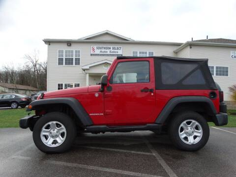 2007 Jeep Wrangler for sale at SOUTHERN SELECT AUTO SALES in Medina OH
