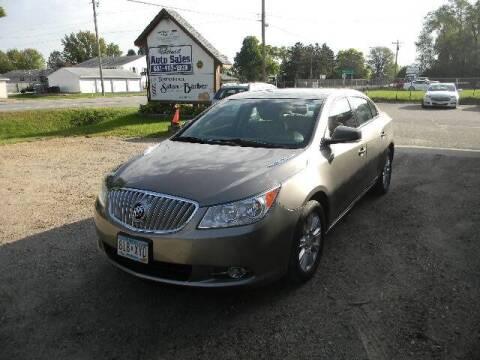 2012 Buick LaCrosse for sale at Northwest Auto Sales in Farmington MN