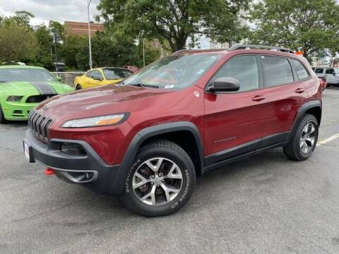 2015 Jeep Cherokee for sale at Sonias Auto Sales in Worcester MA