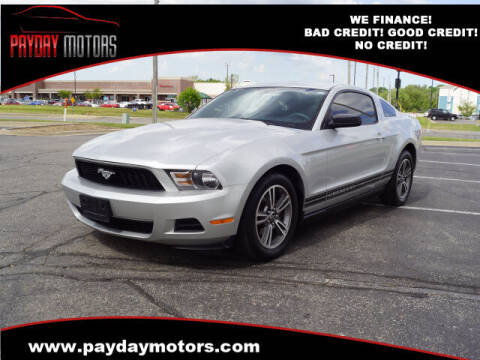 2010 Ford Mustang for sale at Payday Motors in Wichita KS